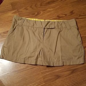 J. Crew sz 10 taupe pocket shorts